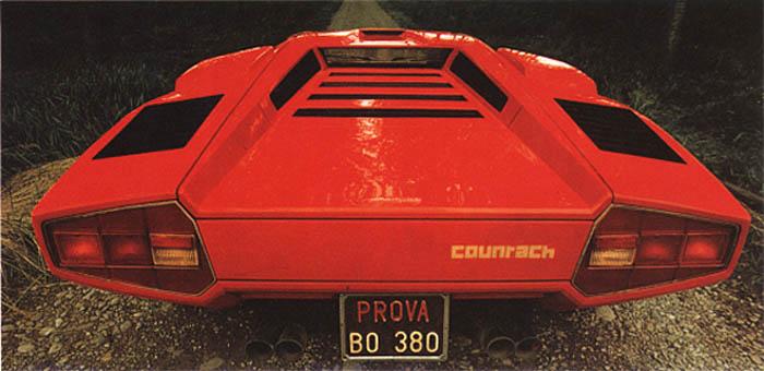 Lamborghini Countach Lp400 Heading To Production