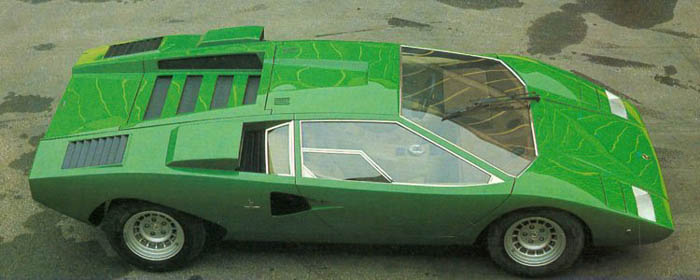 Lamborghini Countach Lp400 Heading To Production