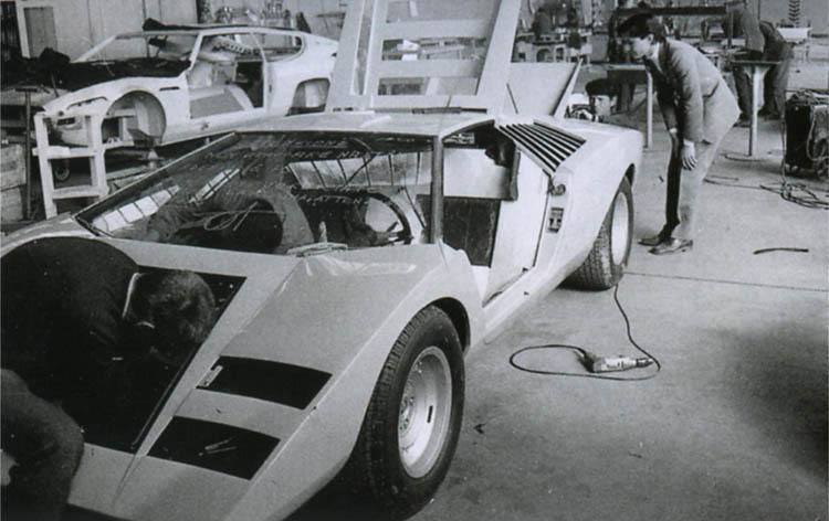 Lamborghini Countach Prototyp