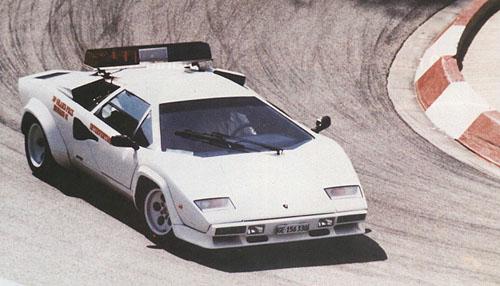 Lamborghini Countach Pace Cars In Monaco Gp 1981 1983